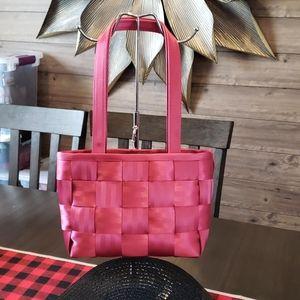 Harveys seatbelt bags, Medium Tote, Raspberry Pink